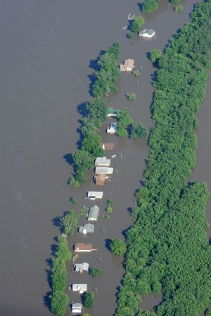 Aerial Views of Flooding in Missouri