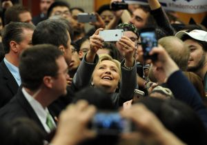 Hillary Clinton Campaigns in Virginia Before Super Tuesday